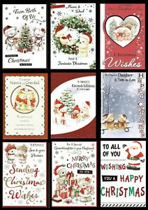 Christmas Cards Friends, Relation ~ SOMETHING FOR EVERYONE ~ ONLY 99p Each card