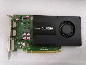 NVIDIA VCQK2000-PB 2 GB GDDR5 Graphic Card