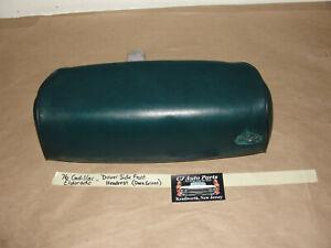 OEM 76 Cadillac Eldorado DRIVER LEFT  SIDE FRONT SEAT HEADREST - DARK GREEN