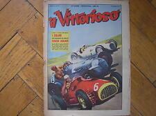 ASCARI FERRARI STUCK AFM MOSS BRM F1 COVER IL VITTORIOSO 1952 MAGAZINE ITALY