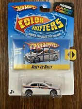 NEW Rare Hot Wheels ALLEY TO RALLY MITSUBISHI LANCER EVOLUTION Color Shifters