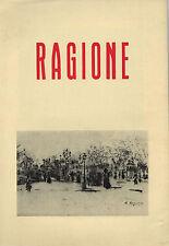 LUIGI MANZI - IL PERIODO PARIGINO DI RAFFAELE RAGIONE PITTORE E POETA 1902-1923