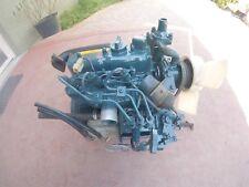 Kubota D722 Engine 3 Cylinders 0719cc 18hp