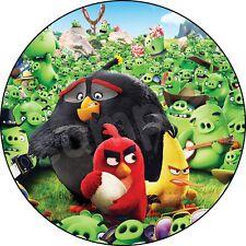 Angry Birds Deco Gateau Disque Azyme Comestible Anniversaire 20 cm