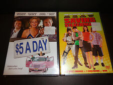 $5 A Day & Saving Silverman-2 movies-Amanda Peet,Christopher Walken,Sharon Stone