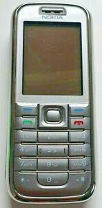 Nokia 6233 - Silver (Vodafone) Mobile Phone, 3D Snake game, UK Seller