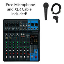 Yamaha MG10XU 10-Channel Stereo Mixer with Effects & FREE Dynamic Microphone Kit