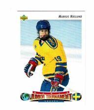 MARKUS NASLUND 1992/93 UPPER DECK ROOKIE CARD #234  VANCOUVER CANUCKS