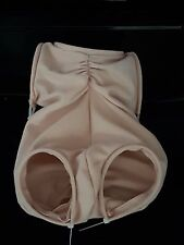 "Flesh colour Doe Suede Body 20"" - 22"" for doll kits with FULL ARM,  FULL LEG"