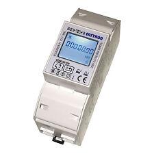 LCD Wechselstromzähler Stromzähler S0 10(100)A - B+G e-tech - SDM230DR mom. Watt