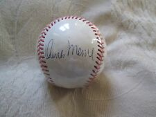 RARE ORLANDO MERCED AUTO SIGNED OFFICIAL N.L. BASEBALL PITTSBURGH PIRATES