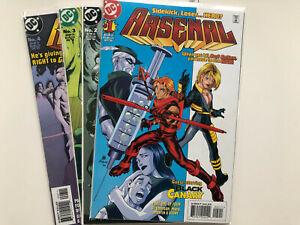 DC Comics ARSENAL Mini Series Full Run Set # 1-4 TITANS