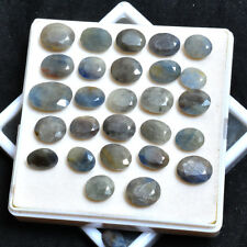 270 Ct//29 Pcs 100% Natural Untreated Sapphire Faceted Cut Gemstones Lot 11-19mm