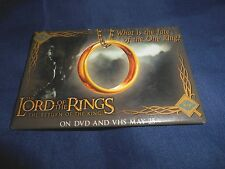 RETRO RARE* THE LORD OF THE RINGS RETURN OF THE KING MOVIE PROMO PINBACK BUTTON