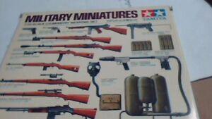 tamiya 1/35th U.S. infantry weapons set nib kit