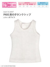 Azone Pureneemo PNXS Boys Tank Top White Blythe Pullip Momoko 1/6 Obitsu