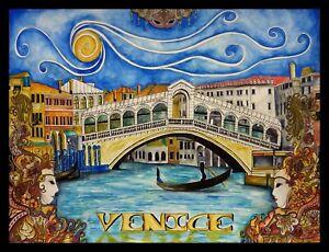 Venice Rialto Bridge Italy Limited Edition Print By Sarah Jane Holt