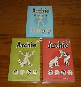 Archie Archives Volume 6,9, 10, SEALED, Dark Horse Comics HC Archie #19-22,29-34
