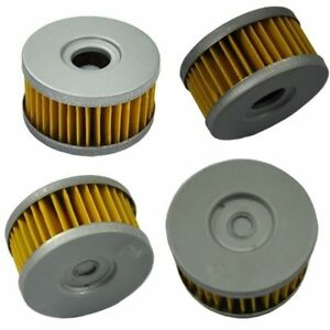 4pcs Oil Filter For SUZUKI DR250 GN250 GZ250 SP250 TU250 VL250 DR350 SG350 N NEW