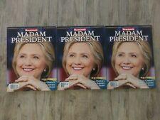 1 2016 Hillary Clinton Madam President Error Newsweek Magazine
