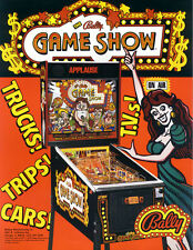 Bally pinball Gameshow sound rom chip set