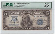 $5 1899 Silver Certificate FR# 277 PMG VF 25
