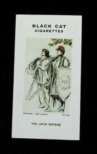 Rare Carreras Black Cat Cigarette Card - Reameaker's WW1 War Cartoons 1916 # 69