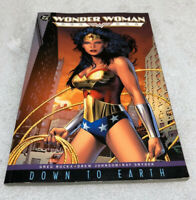Wonder Woman Down To Earth Tpb Nm Near Mint DC Comics