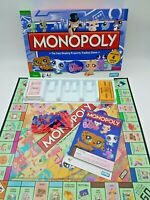 Littlest Pet Shop Edition Monopoly Board Game 2008 Incomplete