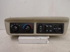00-03 Chevy Venture Montana Silhouette Rear Overhead Radio Climate Control OEM