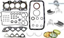 97-01 HONDA CR-V 2.0L DOHC B20B4 B20Z2 GRAPHITE FULL SET *ENGINE RE-RING KIT*