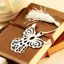 Holy Guardian ANGEL Alloy Bookmark Tassels Stationary Christmas Wedding Gift