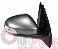 Ford FG & FGX Falcon RH Door Mirror With Blinker STARK GREY 05/08-10/16