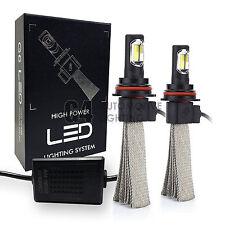 2x Fanless HB5 9007 Canbus LED Headlight Kit 6000K Xenon White Bulb Super Bright