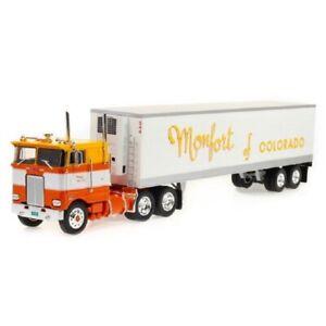 Peterbilt 352H 1979 Montfort of Colorado 1:43 Trailer semi truck Altaya Diecast