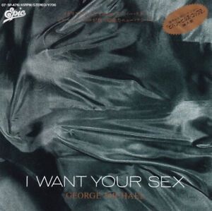"""George Michael - I Want Your Sex / VG+ / 7"""""""", Single"""