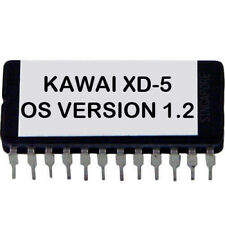 Kawai Xd-5 Version 1.2 firmware latest OS EPROM Xd5 Synth Drum Xd5