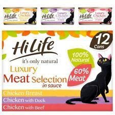 More details for hilife natural cat food multipacks   cats