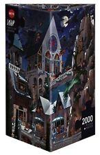 HY26127 - Heye Puzles - Triangular, 2000 PC - Castillo de Terror, Loup