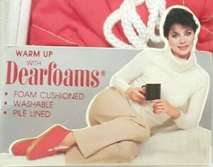 Vintage Dearfoams Cushion Lace Up Made in the USA