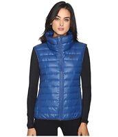 Nike women's NSW Coastal Blue full zip Down Vest size Small nwt