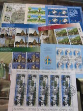 Sammlung, Vatikan Kleinbogen 2010+2011 gestempelt, alles abgebildet