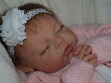 CUSTOM REBORN BABY NOAH by REVA SCHICK Boy or Girl Open or Closed Eyes