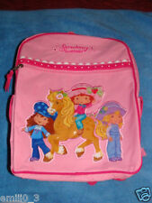 NEW WITH TAGS  STRAWBERRY SHORTCAKE BACKPACK