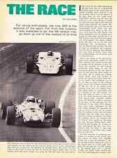 1968 INDIANAPOLIS 500  ~  RARE 4-PAGE ARTICLE