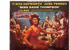 "Miss Sadie Thompson-1953-Original Movie Soundtrack -Record 10"" LP"