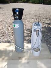Raccordo gasatore  per tutti i modelli acqua  bombola co2 da 5,4  lt  4 kg .