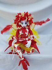 Handemade Soft Sculptured Fairy Cloth Doll OOAK