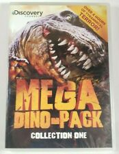 Discovery Channel's MEGA DINO-PACK COLLECTION ONE DVD When Dinosaurs Roam NEW!