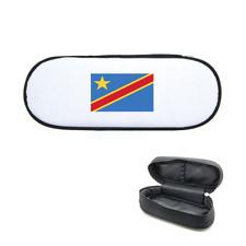 Trousse à crayons imprimée drapeau république du congo